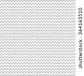 black seamless wavy line pattern | Shutterstock .eps vector #364163510