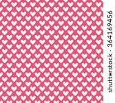 valentine day seamless pattern. ... | Shutterstock .eps vector #364169456