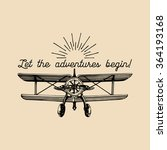 let the adventures begin... | Shutterstock .eps vector #364193168