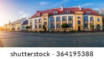 old city in bialystok.... | Shutterstock . vector #364195388