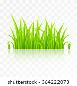 green grass with reflection... | Shutterstock .eps vector #364222073
