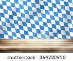 bavaria oktoberfest flag wooden ... | Shutterstock . vector #364230950