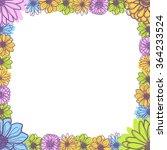 flowers frames | Shutterstock .eps vector #364233524