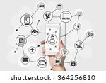 internet of things  iot ... | Shutterstock . vector #364256810