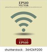 wifi signal symbol   Shutterstock .eps vector #364269200