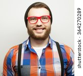 young bearded hipster man | Shutterstock . vector #364270289