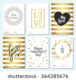 happy valentines day and... | Shutterstock .eps vector #364285676