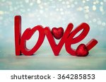 the word love | Shutterstock . vector #364285853
