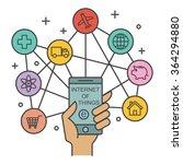 internet of things  technology... | Shutterstock .eps vector #364294880