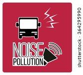 noise pollution illustration... | Shutterstock .eps vector #364295990