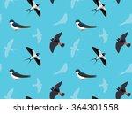 bird swallow wallpaper | Shutterstock .eps vector #364301558