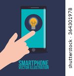 smartphone technology graphic | Shutterstock .eps vector #364301978