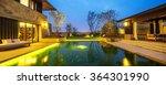 landscape of pond between... | Shutterstock . vector #364301990