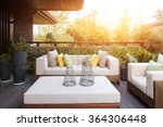 design and furniture in modern... | Shutterstock . vector #364306448