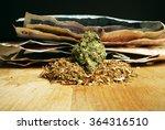 weed money  marijuana cannabis... | Shutterstock . vector #364316510