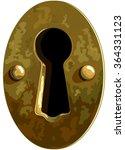 illustration of antique bronze... | Shutterstock .eps vector #364331123