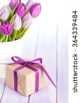 Purple Tulip Bouquet And Gift...