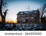 homestead at sunset | Shutterstock . vector #364353350