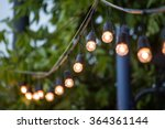 hanging decorative christmas... | Shutterstock . vector #364361144