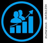 audience growth vector icon.... | Shutterstock .eps vector #364361354
