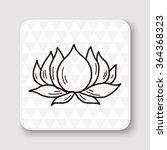 flower doodle | Shutterstock .eps vector #364368323