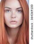 Beautiful Young Red Head Woman...
