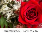 Stock photo red rose bouquet 364371746