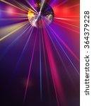 abstract blur disco light ball  ... | Shutterstock . vector #364379228