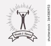 health and fitness design    Shutterstock .eps vector #364380953