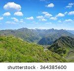 Summer Landscape In Switzerlan...