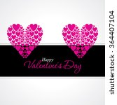 happy valentine's day concept... | Shutterstock .eps vector #364407104