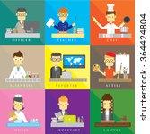people job icon vector | Shutterstock .eps vector #364424804