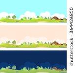 natural landscape | Shutterstock .eps vector #364426850
