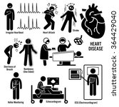 cardiovascular disease heart... | Shutterstock .eps vector #364429040