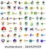 mega set of geometrical...   Shutterstock .eps vector #364429439