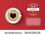 valentine's day card  flyer ...