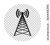 cell phone tower    black...   Shutterstock .eps vector #364448390