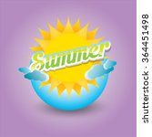 beautiful summer illustrations ....   Shutterstock .eps vector #364451498