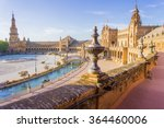 spain square  plaza de espana   ... | Shutterstock . vector #364460006