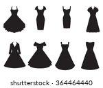 vintage dresses silhouette...