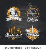 cafe  restaurant  eatery vector ... | Shutterstock .eps vector #364466024