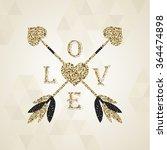 gorgeous golden cupid arrows...