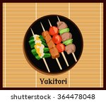 Asian Yakitoris Skewers Set Of...