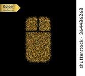 gold glitter vector icon of...   Shutterstock .eps vector #364486268