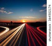 Speed Traffic Light Trails On...