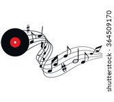 illustration of music  the... | Shutterstock .eps vector #364509170