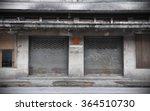 view of an old derelict building | Shutterstock . vector #364510730