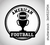 american football design  | Shutterstock .eps vector #364522934