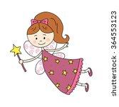 vector illustration of fairy... | Shutterstock .eps vector #364553123