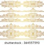 mandala seamless pattern... | Shutterstock .eps vector #364557593